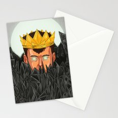The King is Under Control  Stationery Cards