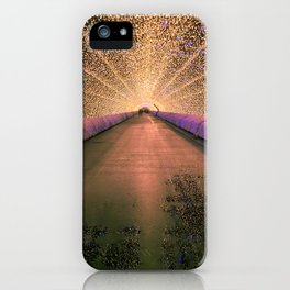 Winter illumination iPhone Case