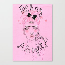 Feeling Alright? Canvas Print