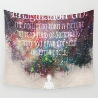 imagination Wall Tapestries featuring Imagination by Jenndalyn
