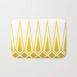 Mid Century Muse: Norms in Mustard Bath Mat