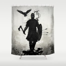 To Valhalla Shower Curtain