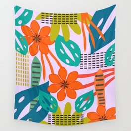 Fresh jungle scene Wall Tapestry