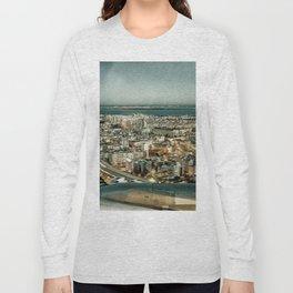 Lisbon sky view Long Sleeve T-shirt