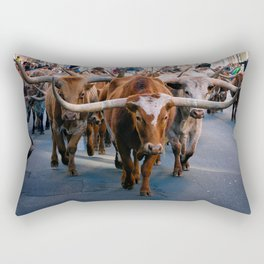 Denver National Western Stock Show Kick-of Parade 2018 Rectangular Pillow