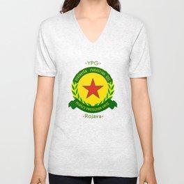 YPG, People's Protection Units Unisex V-Neck