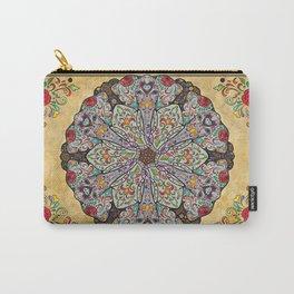 Mandala Elephants Carry-All Pouch