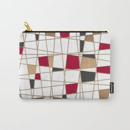 Abstract geometric pattern 3 Carry-All Pouch