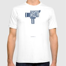 Production Value! -Super 8 Mens Fitted Tee White MEDIUM