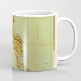 Map Of The Philippines 1898 Coffee Mug