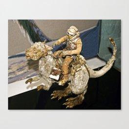 Luke and the Tauntaun Canvas Print