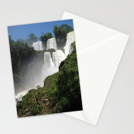 Waterfalls (Iguazu Falls) Stationery Cards