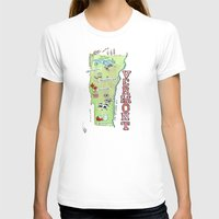 vermont T-shirts featuring VERMONT by Christiane Engel