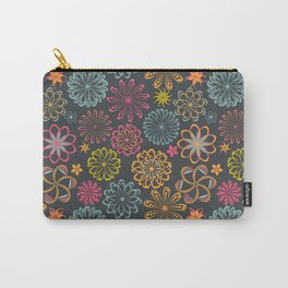 laces decor pattern Carry-All Pouch