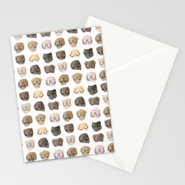 Lots of boobs Stationery Cards