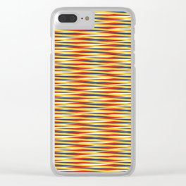 Vibrating Rain Clear iPhone Case