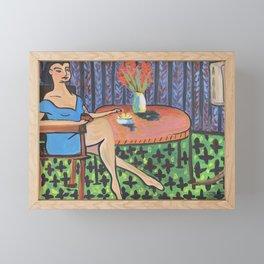 Lonely Widow Framed Mini Art Print