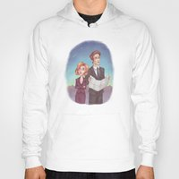mulder Hoodies featuring Mulder & Scully by Kaz Palladino