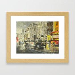 London Lights Framed Art Print