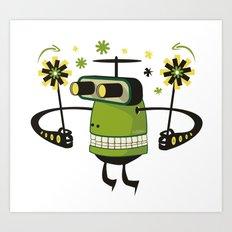 Mister Green Art Print