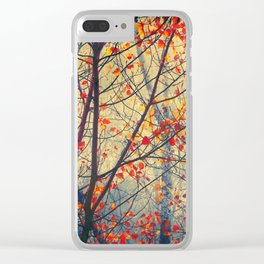 trees VIII Clear iPhone Case