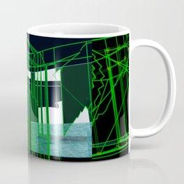 black and green Coffee Mug