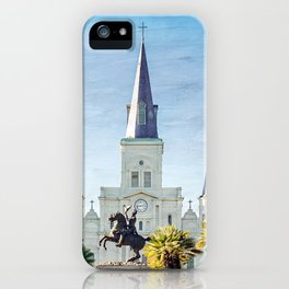 Jackson Square New Orleans iPhone Case