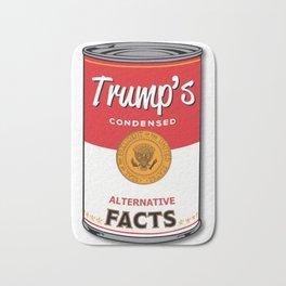 Trump's Canned Goods Bath Mat