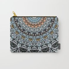 Intricate Circle of Abstract Shapes Carry-All Pouch