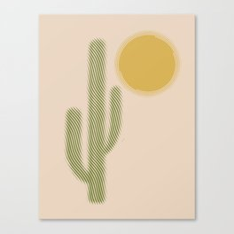 Sweating Canvas Print