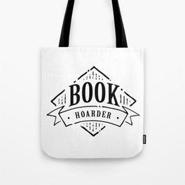 Book Hoarder Black Tote Bag