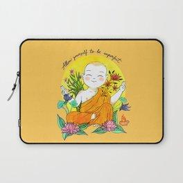 The Buddhist Monk Laptop Sleeve
