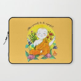 The Buddhist Monk Laptop Sleeve