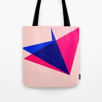 origami Tote Bags featuring Origami by TheseRmyDesigns