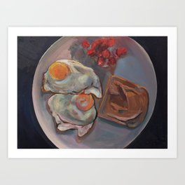 Breakfast in Alexandria Art Print