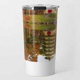 Jade Buddha Pagoda Travel Mug