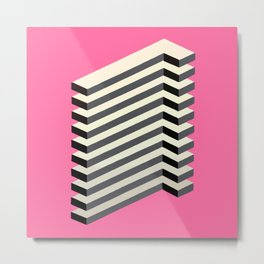'Geometric Design' Metal Print