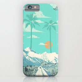TROPICAL WINTER iPhone Case