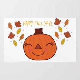 happy fall ya'll  Rug