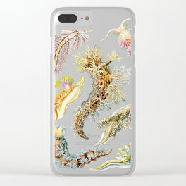 Ernst Haeckel - Nudibranchia (Snails) Clear iPhone Case