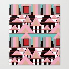 Postmodern City Skyline Canvas Print