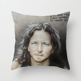 'E. Vedder' Throw Pillow