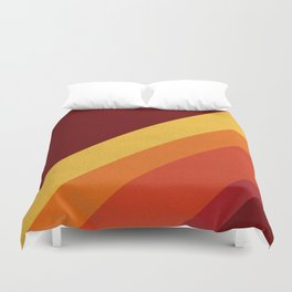 Retro 70s Color Palette II Duvet Cover
