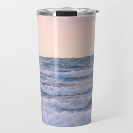 Sunset Waves Travel Mug