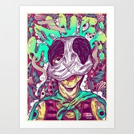 Reimagine Palahniuk - Snuff Art Print