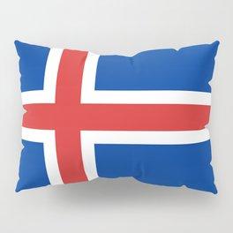 Iceland Flag Pillow Sham