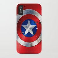 shield iPhone & iPod Cases featuring SHIELD by Smart Friend