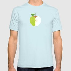 Fruit: Apple Golden Delicious SMALL Light Blue Mens Fitted Tee