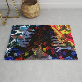 Crazy for Shoes Rug