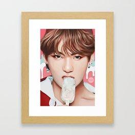 Icecream Party JK Framed Art Print